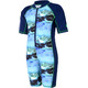 Color Kids Tayac AOP UPF Suit Kids estate blue